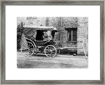 Field Ambulance Used By Florence Framed Print by Wellcome Images