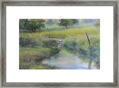 Field And Stream Framed Print