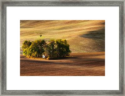 Field Chapel Framed Print