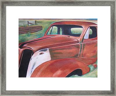 Field Find Framed Print by Gayle Caldwell