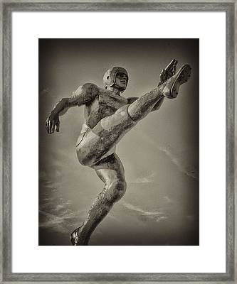 Field Goal Framed Print by Bill Cannon