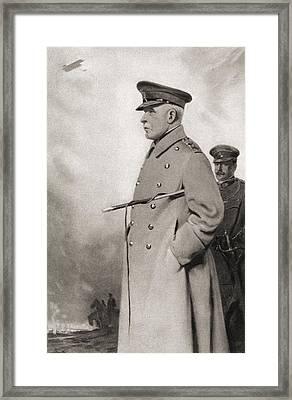 Field Marshal John Denton Pinkstone Framed Print by Vintage Design Pics