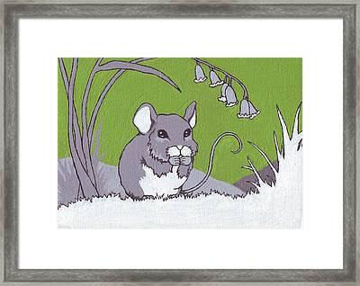 Field Mouse Framed Print by Sarah Webb