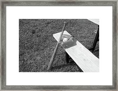 Field Of Dreams Ghost Framed Print