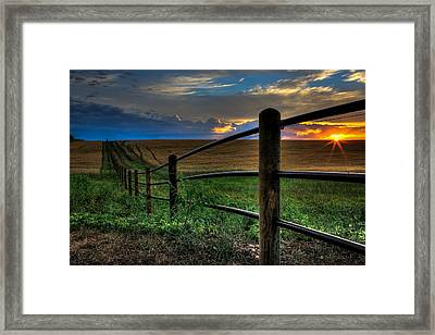 Field Of Dreams II Framed Print