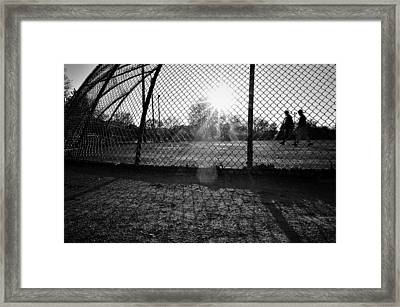 Field Of Dreams Framed Print by Jeanette O'Toole