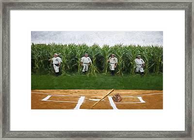 Field Of Dreams Framed Print by Pat Cook