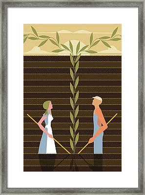 Field Of Hope - M-f Framed Print by Richard Nodine