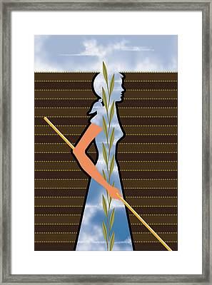 Field Of Hope Framed Print by Richard Nodine