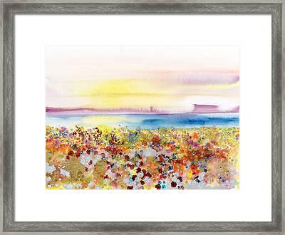 Field Of Joy Framed Print by Tara Thelen - Printscapes