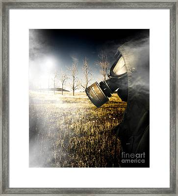 Field Of Terror Framed Print