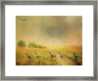 Field Trip Framed Print by Wallaroo Images