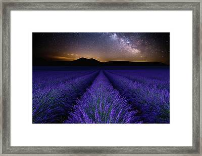 Fields Of Eden Framed Print