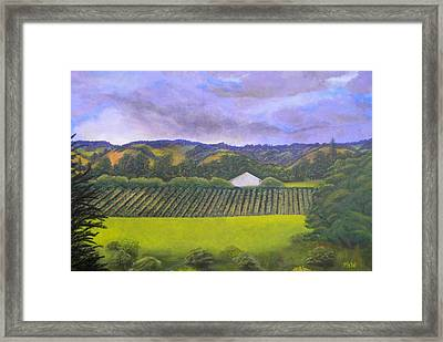 Fields Of Plenty Framed Print