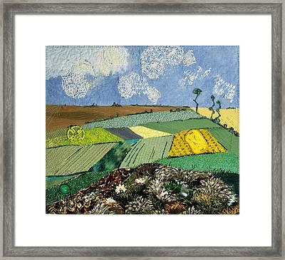 Fields To Gogh Framed Print