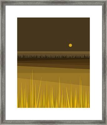 Fields Framed Print