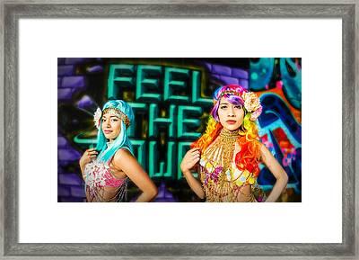 Fierce  Framed Print