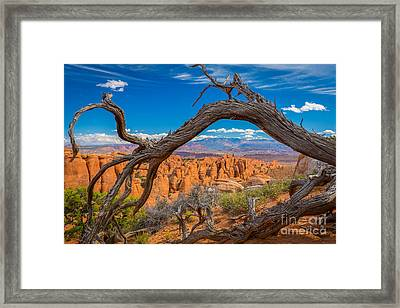 Fiery Furnace Framed Print
