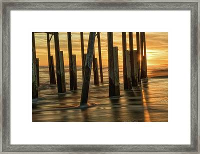 Fiery Kiss Framed Print