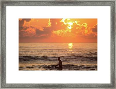 Fiery Morning Framed Print by AM Photography