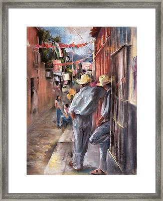 Fiesta Framed Print by Joan  Jones