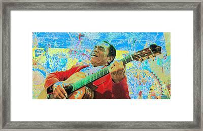Fiesta Framed Print by Joe Jake Pratt