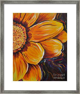 Fiesta Of Courage Framed Print