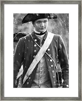 Fifes And Drums Field Musician Framed Print by Rachel Morrison