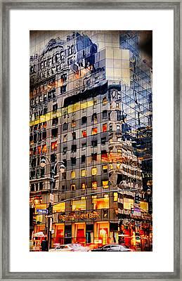 Fifth Avenue Floor Plan Framed Print