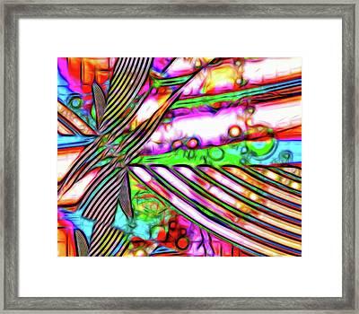 Fifth Dimension Framed Print