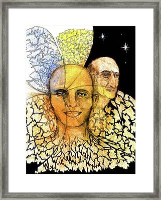 Fifth Dimension Framed Print