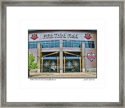 Fifth Third Field Toledo Mudhens Framed Print