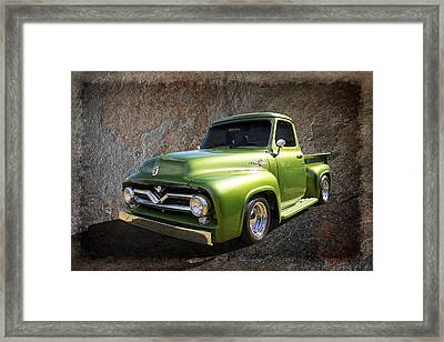 Fifties Pickup Framed Print by Keith Hawley