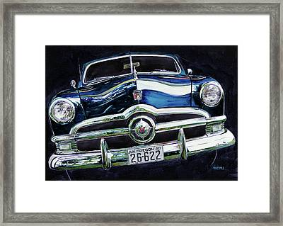 Fifty Ford Framed Print by Mike Hill