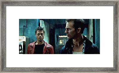 Fight Club #1 Large Size Painting Framed Print