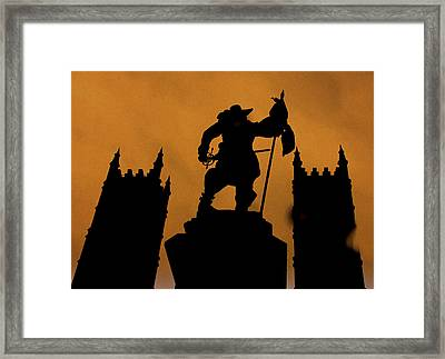 ..fight ...for ....your ...right...  Framed Print
