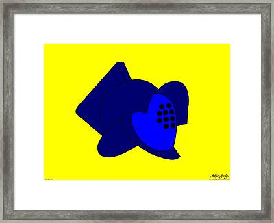 Fight To The Death Framed Print by Asbjorn Lonvig