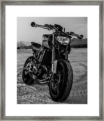 Fighter Framed Print by Hyuntae Kim