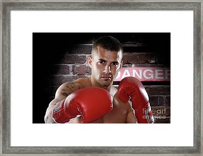Fighter Framed Print by Oleksiy Maksymenko