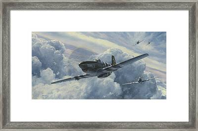 Fighting Cobras Framed Print
