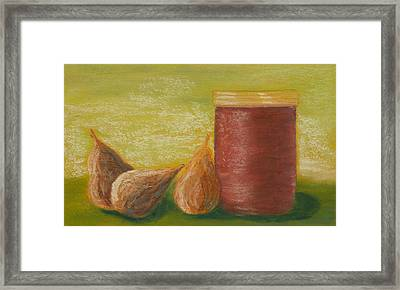Figs With Preserves Framed Print by Cheryl Albert