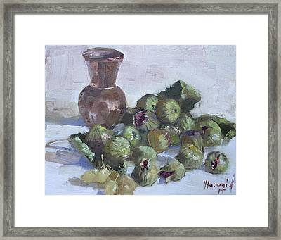 Figs Framed Print by Ylli Haruni