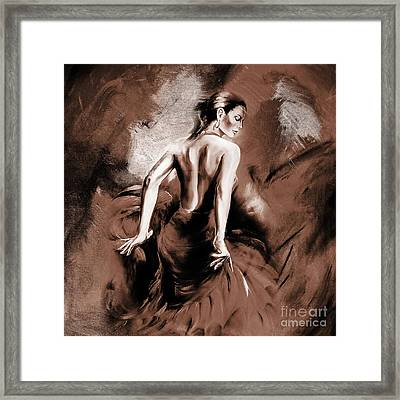 Figurative Art 007b Framed Print