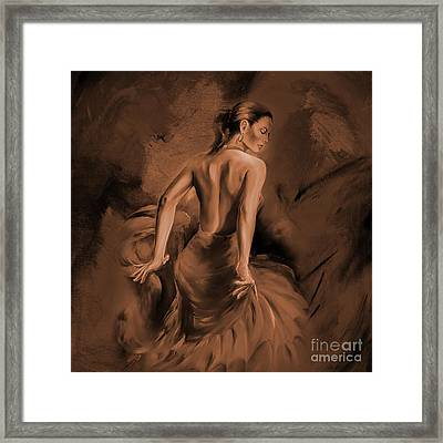 Framed Print featuring the painting Figurative Art 007dc by Gull G