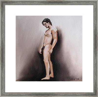 Figure I Framed Print by Matthew Lake