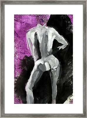 Figure No 2 Framed Print by Nancy Merkle