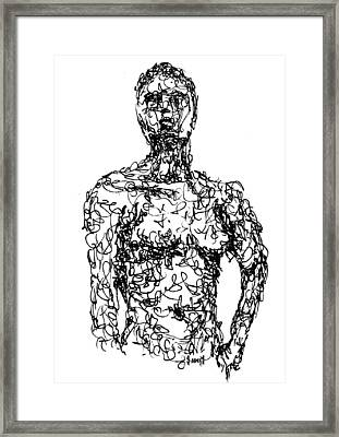 Figure Framed Print by Sam Sidders
