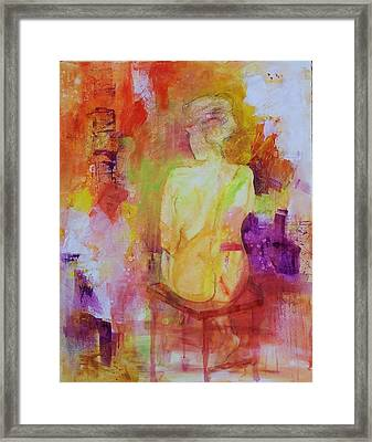 Figure Study 019 Framed Print by Donna Frost