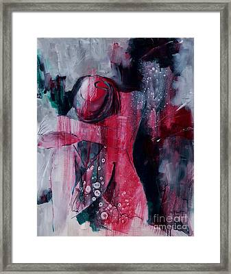 Figure Study 021 Framed Print by Donna Frost