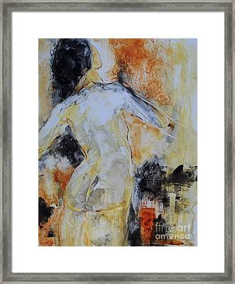 Figure Study 023 Framed Print by Donna Frost
